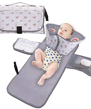 Mallify Portable Baby Changing Pad,Travel Changing Pads