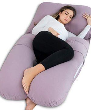 Pregnancy Pillow, Adjustable Belt and Detachable Extension