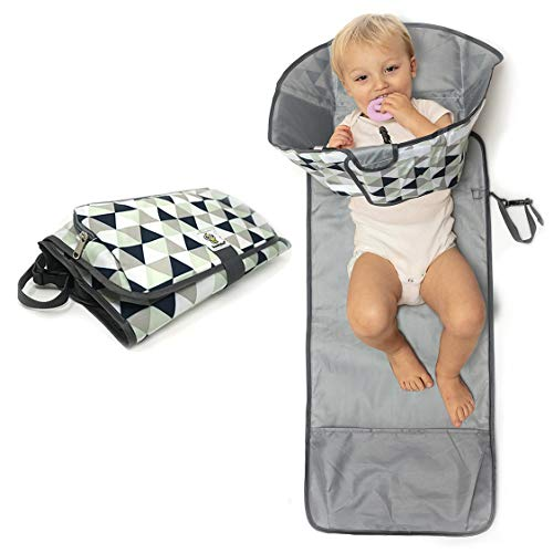 Large Baby-Changing Travel Pad Diaper Clutch