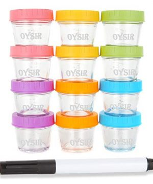 Microwave Glass Baby Food Storage Containers
