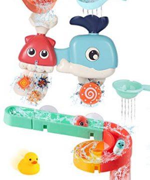 BESSENTIALS Baby Bath Toys Assemble Set