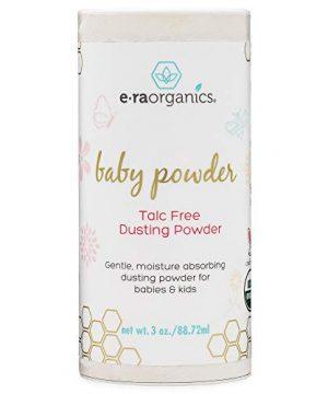 Baby Powder Talc Free - USDA Certified Organic Dusting Powder