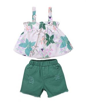 Toddler Girl Outfit Baby Girl Clothes Vest