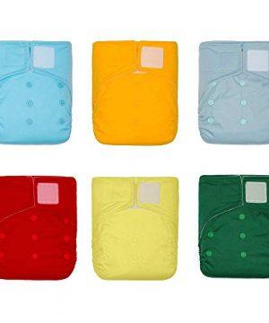 KaWaii Baby One Size Heavy Duty HD2 Cloth Diaper Shells