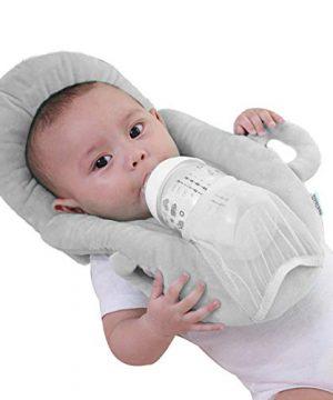 Springcmy Baby Detachable Prevent Flat Self Feeding