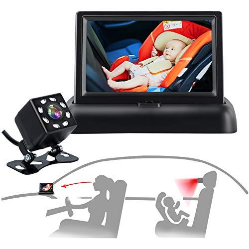 Baby Car Mirror, Car Baby Camera Monitor