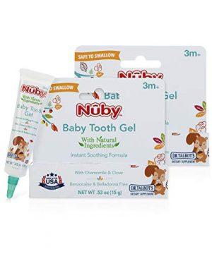 Baby Tooth Gel for Sore Gums Belladonna Free