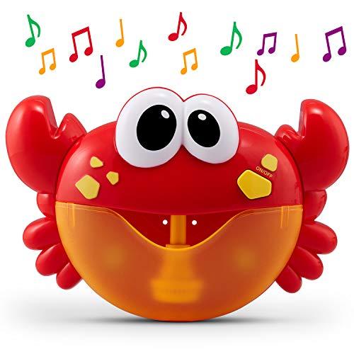 CHUCHIK Crab Bath Toy. Bubble Bath Maker for The Bathtub.