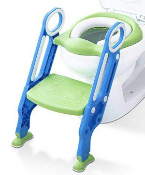 Mangohood Potty Training Toilet Seat with Step Stool Ladder