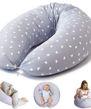 Bamibi Nursing Pillow and Positioner - Multi-Use Breastfeeding for Baby