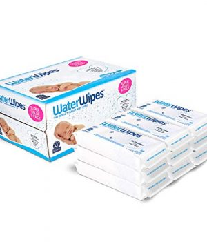 WaterWipes Unscented Baby Wipes, Sensitive and Newborn Skin