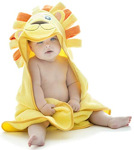 Hooded Baby Towel, Lion Design from Little Tinkers World