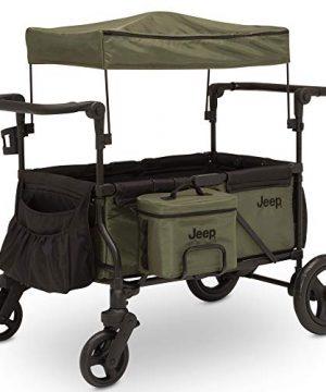 Jeep Deluxe Wrangler Stroller Wagon by Delta Children