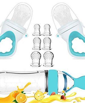 Baby Food Feeder, Fresh Food - 2 Pack Fruit Feeder Pacifier