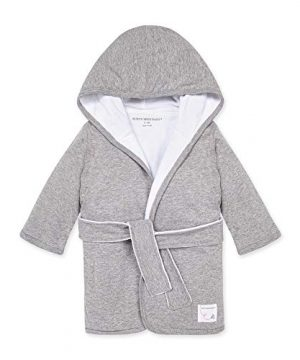 0-9 Months Infant Hooded Robe Organic Cotton