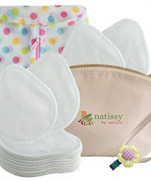 Bamboo Nursing Pads Washable, Made in EU