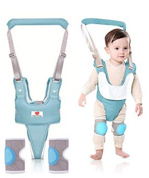 Adjustable Walker with Knee Pads Baby Walking Harness Assistance