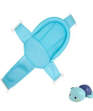 Baby Bath Seat Support Net, with Four Safety Support Corner
