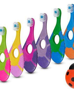 0-2 Years Baby Toothbrush Free Holder