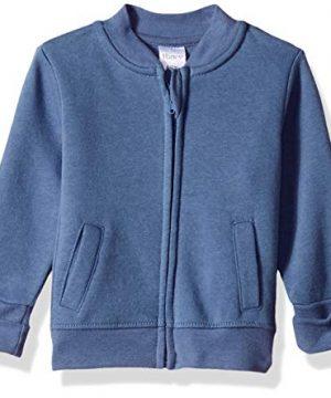 Hanes unisex baby Ultimate Zippin Fleece Jacket
