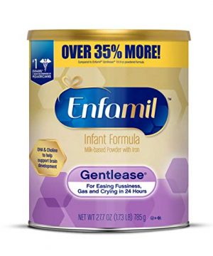 Enfamil Gentlease Infant Formula, Clinically Proven to Reduce Fussiness