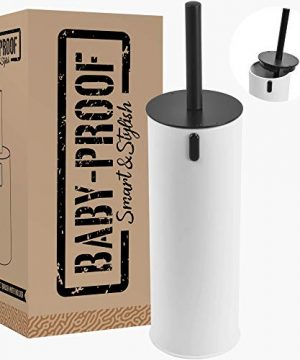 Baby Proof Toilet Brush with Air Tight Odor