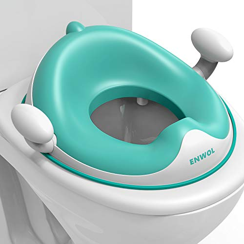 Potty Seat for Toilet with Safety Handles - Toddler Toilet Seat