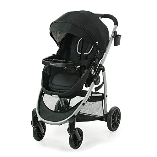Graco Modes Pramette Stroller, Baby Stroller with True Bassinet Mode