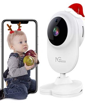 Baby Monitor with Camera and Audio, NGTeco 1080P