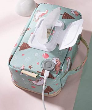 Portable Wipe Warmer, USB Power Wet Wipes Warmer Container