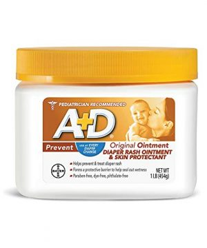 A+D Original Diaper Rash Ointment, Skin Protectant