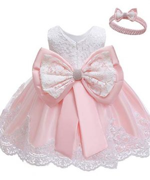 Baby Girl Dresses Ruffle Lace Pageant Party
