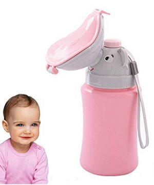 Tocypho Baby Girls Child Kids Portable Emergency Urinal Potty