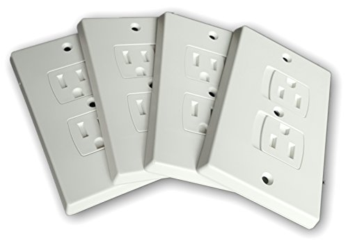 Self-Closing Electrical Outlet Covers for Baby Proofing