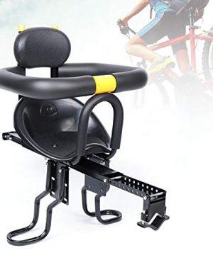 LOYALHEARTDY Child Bike Seat Portable Front Mounted Child Safety