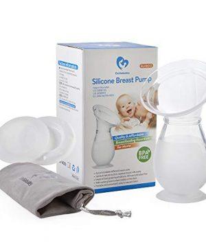 Bellababy Manual Breast Pump 100% Liquid Silicone