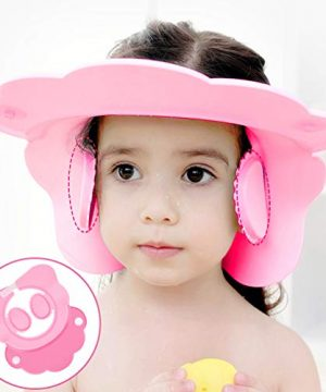 Baby Bathroom Safety Visor Caps Child Shower Cap