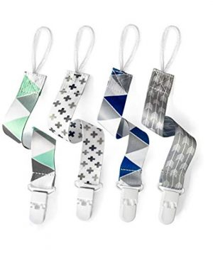 Baby Pacifier Clips for Boys and Girls