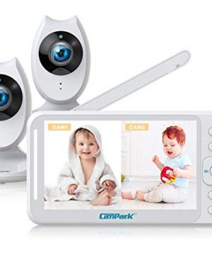 Campark Baby Monitor with 2 Cameras