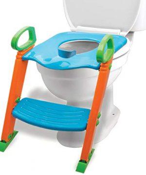 Potty Training Seat with Ladder, Upgraded Splashguard