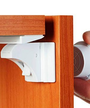 BABY TRUST Baby Proofing and Child Proof Magnetic Cabinet Locks