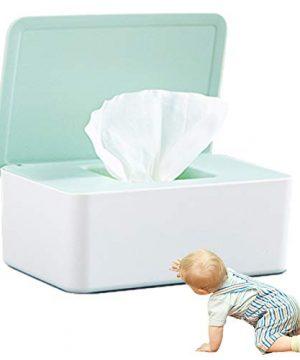 Baby Wipes Dispenser, Reusable Baby Wipe Holder Box