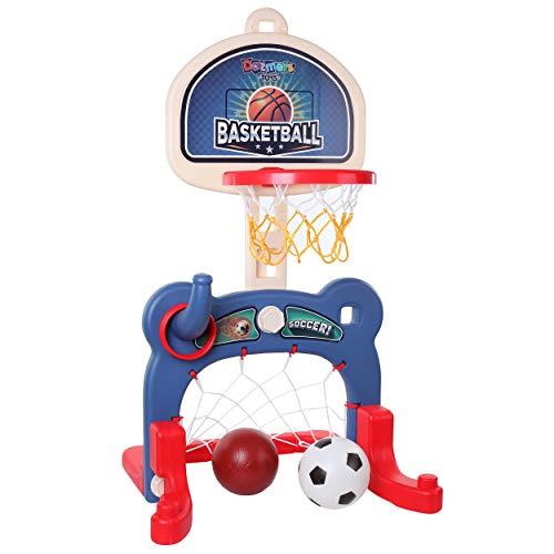 3-in-1 Kids Sports Center: Basketball Hoop