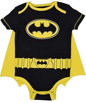 Baby Boys Batman Bodysuit and Cape Set