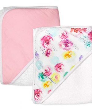 HonestBaby 2-Pack Organic Cotton Hooded Towels