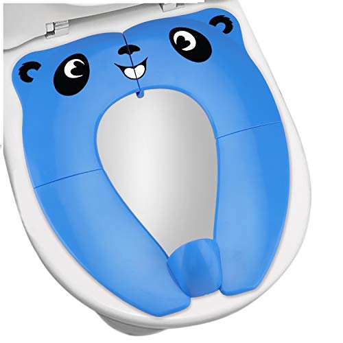 Upgrade Portable Potty Seat with Splash Guard for Toddler