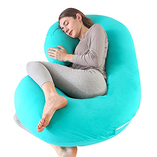 "CDEN Pregnancy Pillow, C Shaped Full Body Pillow 52"""