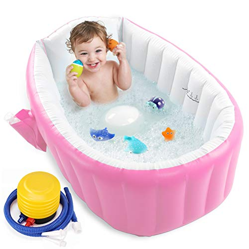 Inflatable Baby Bathtub with Air Pump
