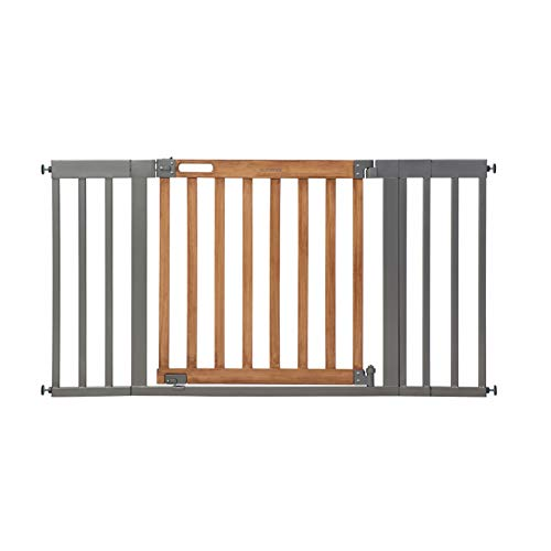 Summer West End Safety Baby Gate, Honey Oak Stained Wood
