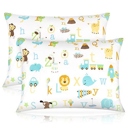 Toddler Pillow,13 x 18 Inch Kids Pillows for Sleeping